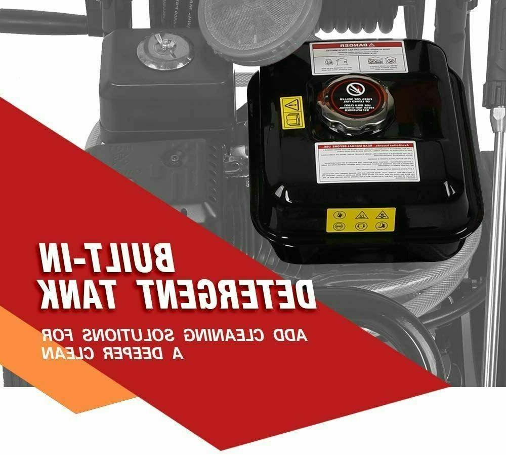 ETOSHA Washer 4800PSI 6.5HP Power Spray 5 Nozzles