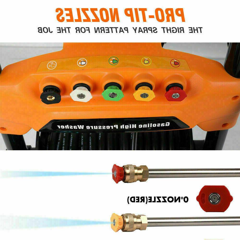 ETOSHA Gas 4800PSI 6.5HP Spray Gun Nozzles