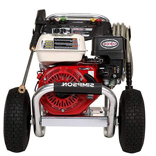 SIMPSON GX200 AAA ALH3425 Aluminum 3600 PSI 2.5 Washer, Honda G