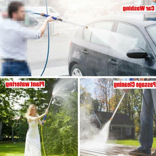 High Pressure Water Spray Gun Garden Hose Wand US