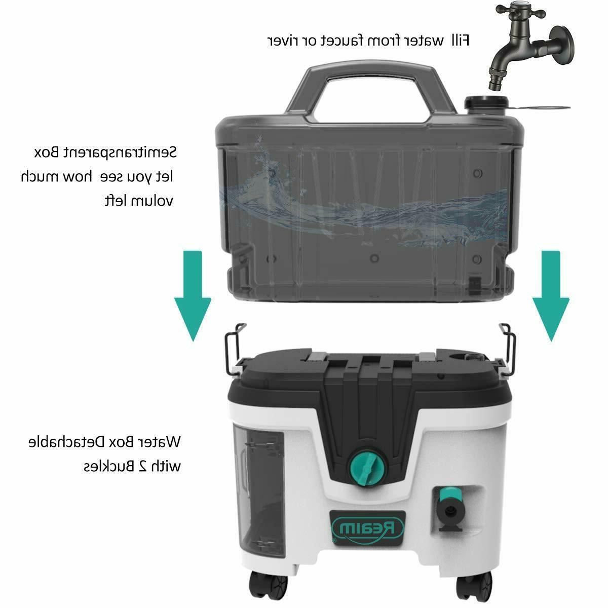 Realm ion 40V 4.0 Ah 1200 PSI GPM Washer
