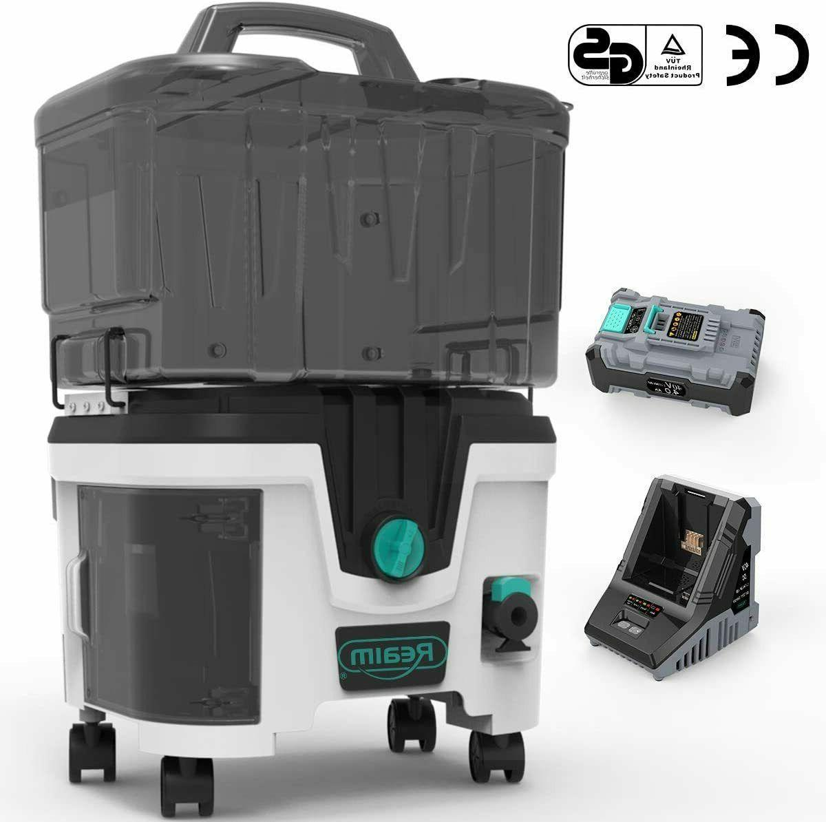 Lithium Battery Cordless Washer w/Battery 4.0Ah 1200PSI