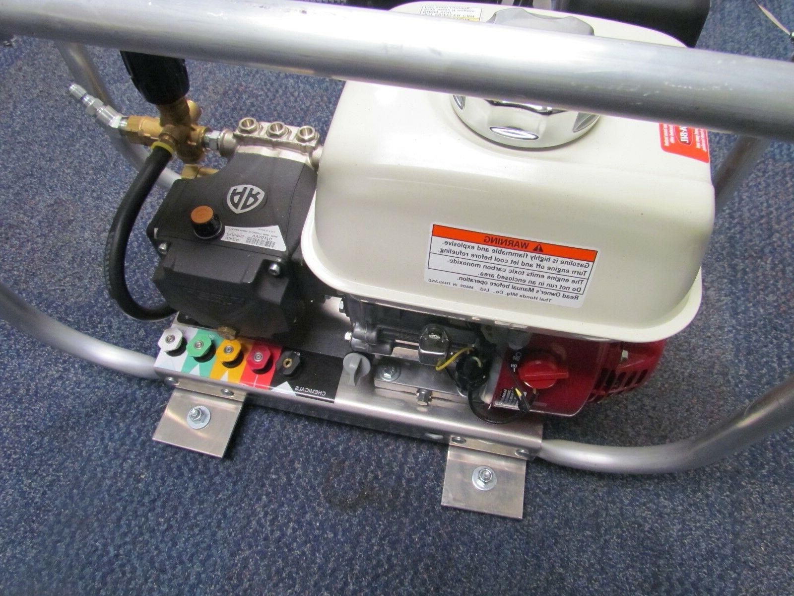 Mobile Wash Honda GX200-3GPM-2700PSI