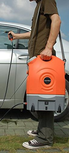 Ivation Washer Runs Built-In Rechargeable Battery, Plug 12v Car Integrated Roller Wheels