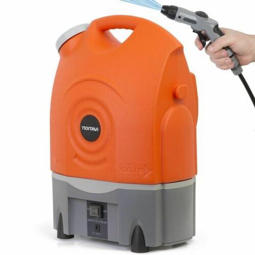 multipurpose portable washer w water