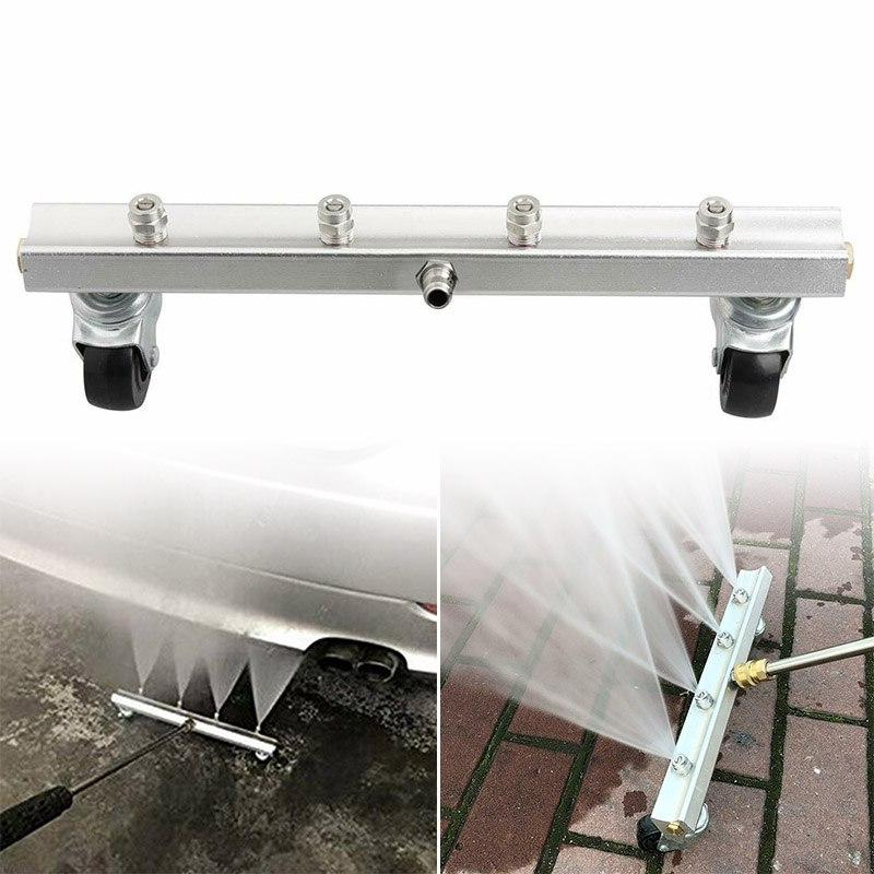 nozzle car chassis cleaning water broom swivel