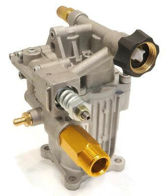 pressure washer pump with aluminum head