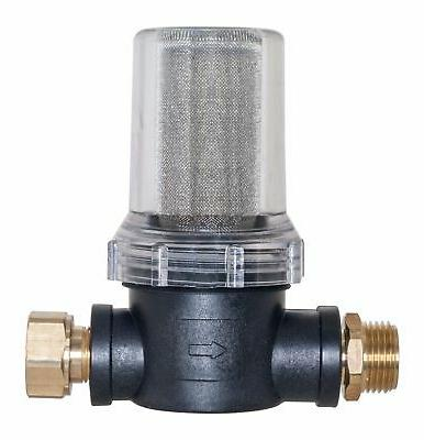 pressure washer inlet filter w brass connections