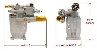 Pressure Washer Pump Aluminum for Excell