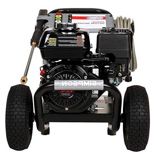 Simpson Gas Pressure PSI GPM, GX200 OHV, Pump Black