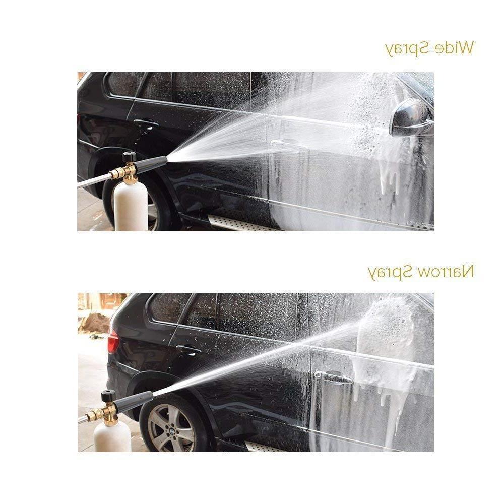 Snow Foam Cannon Soap Pressure Washer Gun Car