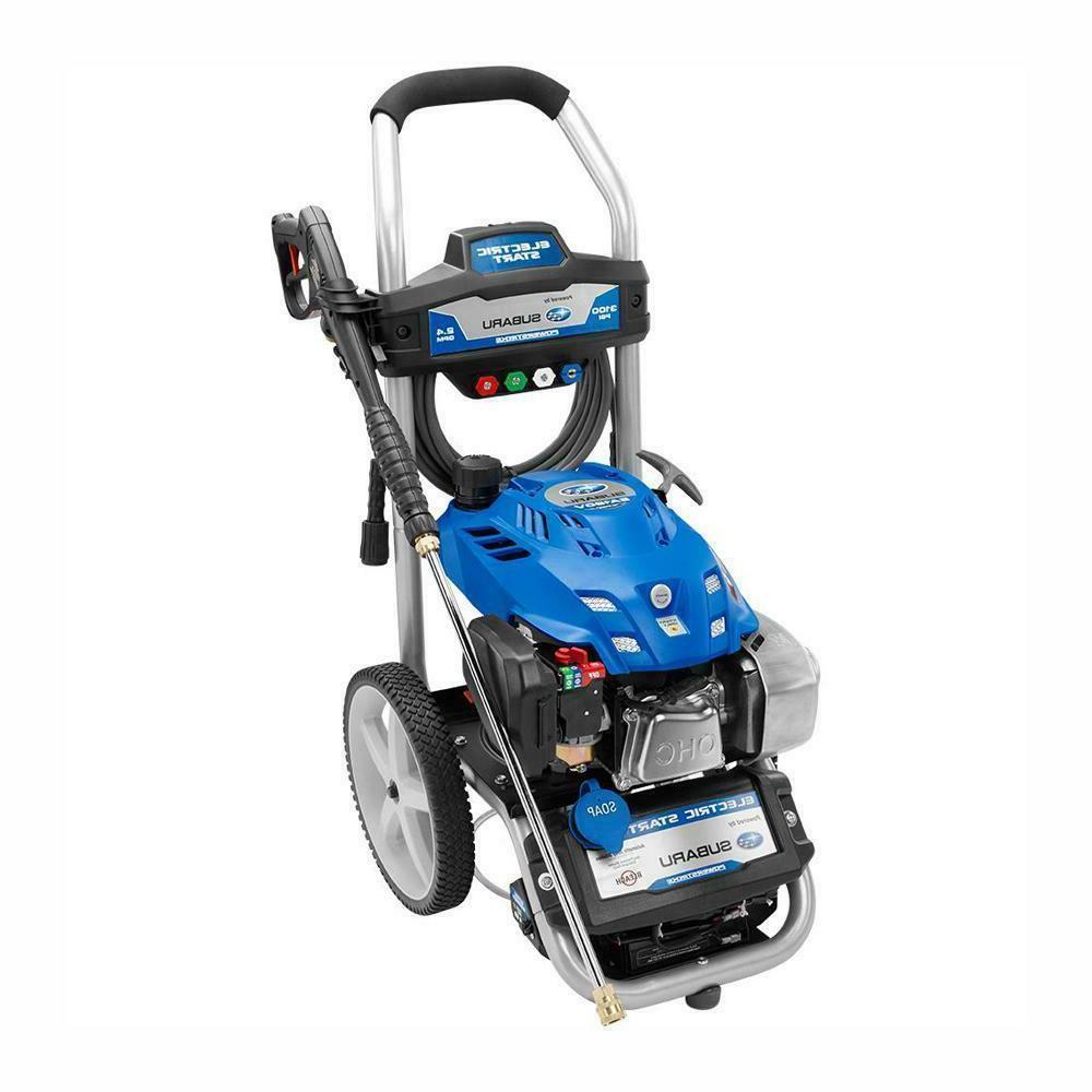 Subaru Electric Start Gas Pressure Washer 3100psi Reconditio
