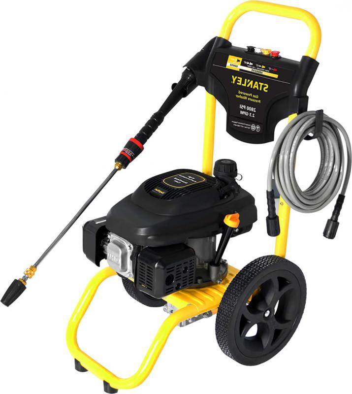 STANLEY @ 2.3 Gas Pressure Washer Powered by