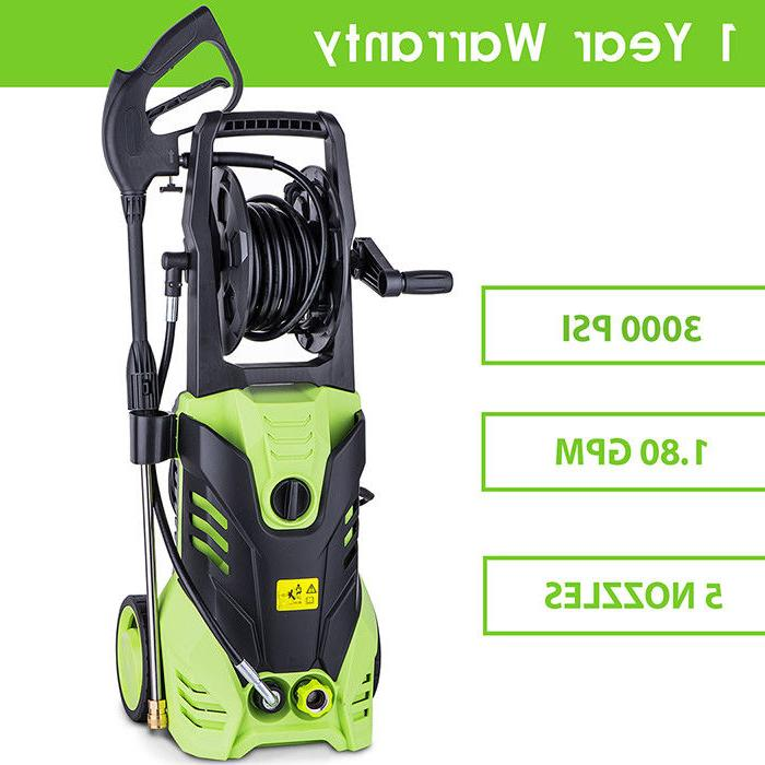 Greenworks 3000-PSI Electric Pressure Washer Car Wash