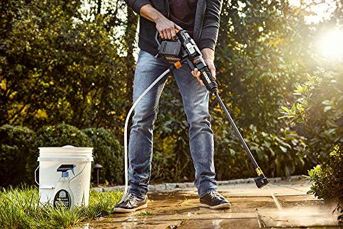 WORX WG644 40V Share Power Cleaner, 2 and Charger