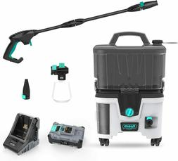 Lithium Battery Cordless Pressure Washer w/Battery ion 40V 4
