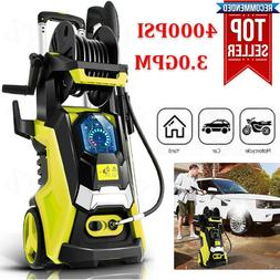 4000PSI 3.0GPM Electric Pressure Washer High Power Cleaner,W