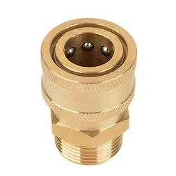 "1pc Mayitr Copper 3/8"" Washer Quick Release Adapter Connecto"