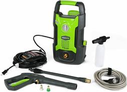 New Greenworks 1500 PSI 13 Amp 1.2 GPM Pressure Washer GPW15