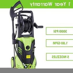 New!! 3000PSI Electric Pressure Washer Cleaner 1.8 GPM 1800W