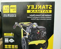NEW!! Stanley FATMAX 2.5 GPM 3400 PSI Gas Power Portable Hig