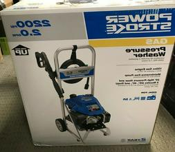 New PowerStroke PS80519B 2200PSI Gas Pressure Washer 2.0 GPM