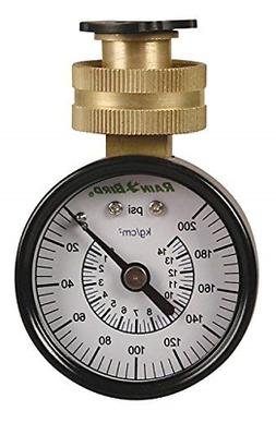"Rain Bird P2A Water Pressure Test Gauge, 3/4"" Female Hose Th"