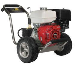 BE Pressure PE-4013HWPSCOMZ Gas Powered Pressure Washer, GX3
