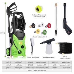 Portable 3000PSI Jet Electric Pressure Washer Heavy Duty Aut