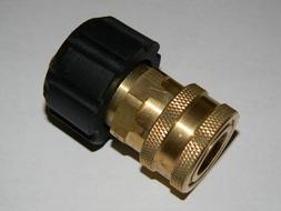 """Power Pressure Washer Twist Connect M22 X 3/8"""" Quick Disconn"""