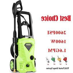 Homdox Power Washer 2600 PSI Electric Pressure Washer 1.6 GP