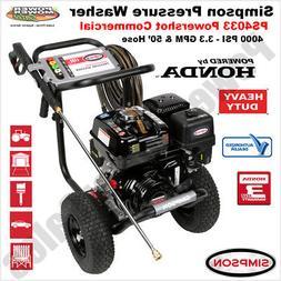 SIMPSON PowerShot 4000 PSI 3.3 GPM - Gas Pressure Washer Pow