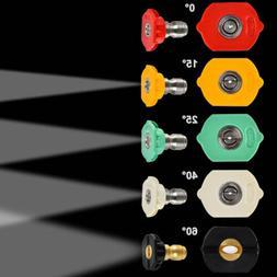 Set of 5 Pressure Power Washer Nozzle, 1500-3000 PSI Craftsm