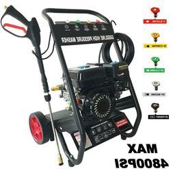 Pressure Washer 4800PSI 7HP Gas with Power Spray Gun 4-Strok
