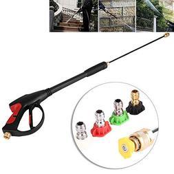 GOTOTOP Pressure Washer Gun 4000 PSI Spray Gun with Extensio