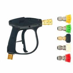 8milelake High Pressure Washer Gun 4350PSI Max, 5 Pressure P