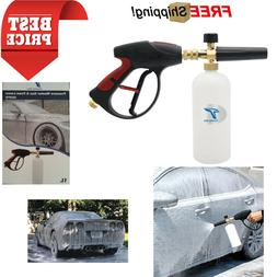 Twinkle Star 3000 PSI High Pressure Washer Gun Snow Foam Lan