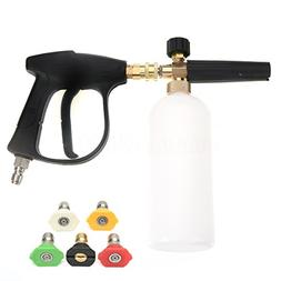 NUZAMAS High Pressure Washer Gun with 5 Water nozzle Tip & 1
