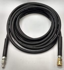 "Pressure Washer Hose 3/8"" Hot/Cold Water. Power Washer W/Qui"