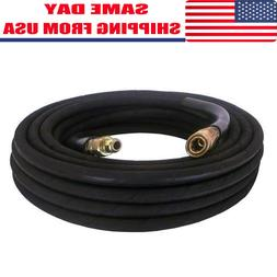 """Pressure Washer Hose 3/8"""" x 50' 4000 psi With Quick Connects"""