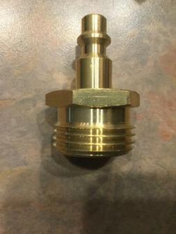 pressure washer pump saver and winterizer attachment