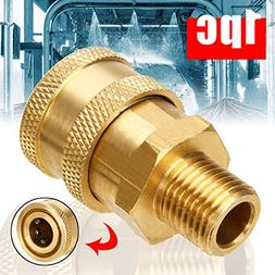 1pc 4000psi Pressure Washer Quick Connect Coupler Converter