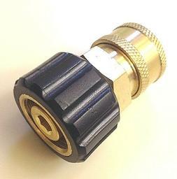 "Pressure Washer Twist Connect M22 X 3/8"" Quick Disconnect  C"