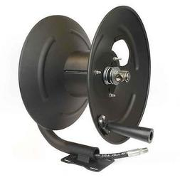 "Interstate Pneumatics PW7190 3/8"" x 100 Feet Steel Hose Reel"