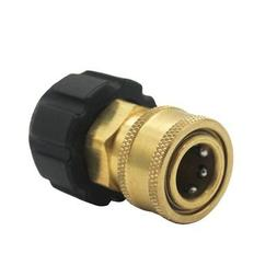 """3/8"""" Quick Connect npt to m22 14mm Metric Fitting for High P"""