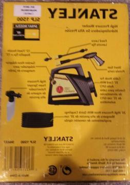 Stanley SLP 1500 PSI Pressure Washer with Spray Gun Brand Ne