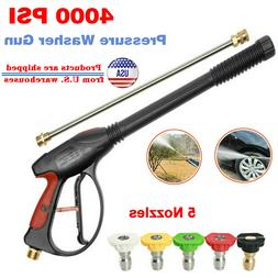NEW 4000PSI High Pressure Car Power Washer Spray Gun Nozzle