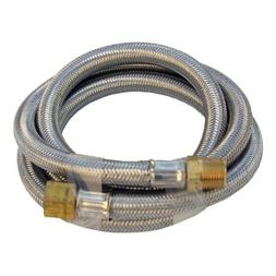 Lasco 16-9191 Stainless Steel Propane 5-Feet Extension Hose