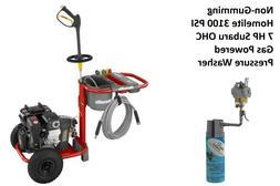Homelite Subaru 3100 PSI Gas Pressure Washer 2.3GPM with Cle