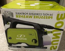 Sun Joe SPX202C Electric Cordless Pressure Washer , 725 PSI